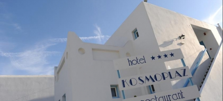 Hotel Kosmoplaz: Exterior MYKONOS