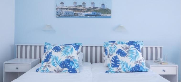 Hotel Kosmoplaz: Habitaciòn Gemela MYKONOS