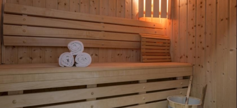 Hotel Kosmoplaz: Sauna MYKONOS