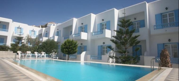 Hotel Kosmoplaz: Swimming Pool MYKONOS