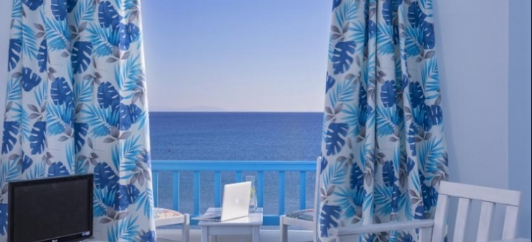 Hotel Kosmoplaz: Vista MYKONOS