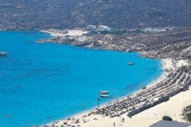 Hotel Royal Myconian Resort & Thalasso Spa Center: Plage MYKONOS