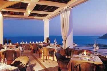 Hotel Royal Myconian Resort & Thalasso Spa Center: Restaurant MYKONOS