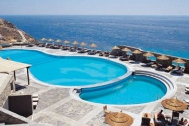 Hotel Royal Myconian Resort & Thalasso Spa Center: Swimming Pool MYKONOS