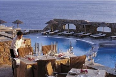 Hotel Royal Myconian Resort & Thalasso Spa Center: Ristorante MYKONOS