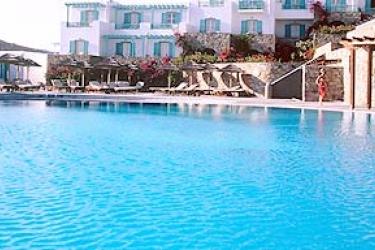 Hotel Royal Myconian Resort & Thalasso Spa Center: Outdoor Swimmingpool MYKONOS