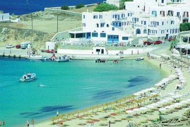 Hotel Petinos Beach: Exterieur MYKONOS