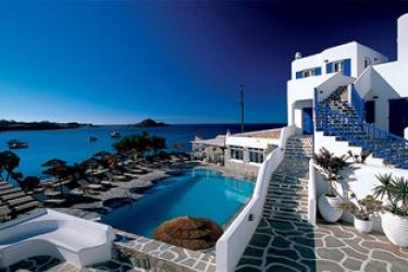 Hotel Petinos Beach: Piscine Découverte MYKONOS