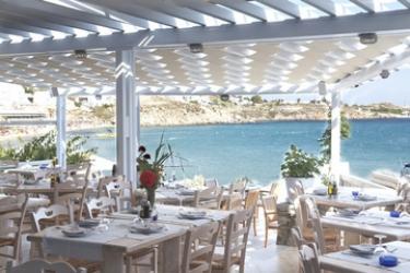 Hotel Petinos Beach: Salle de Petit Dejeuner MYKONOS