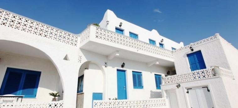 Hotel Mina Town: Hotel Front MYKONOS