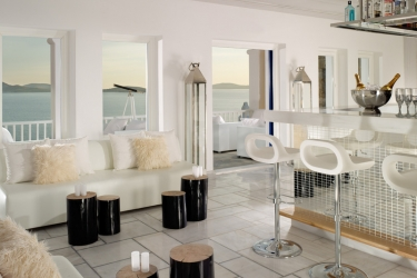 Mykonos Grand Hotel & Resort: Bar MYKONOS