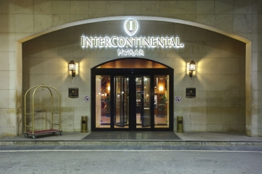 Hotel Mzaar Intercontinental Resort: Hotel Front - Evening/Night MZAAR KFARDEBIAN