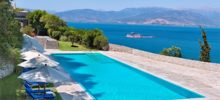 Nafplia Palace Hotel & Villas: Swimming Pool NAFPLION