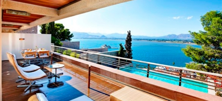 Nafplia Palace Hotel & Villas: Terrasse NAFPLION