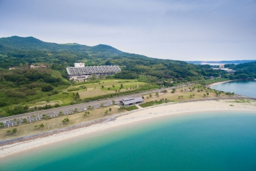 Hirado Senrigahama Onsen Hotel Ranpu: Vue plage / océan NAGASAKI - NAGASAKI PREFECTURE