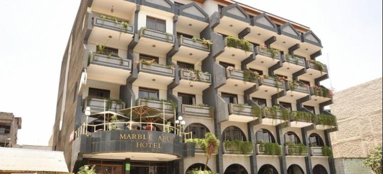 Marble Arch Hotel: Hall NAIROBI