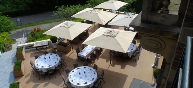 Hotel Chateau De Namur: Jardín NAMUR