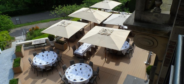 Hotel Chateau De Namur: Jardin NAMUR
