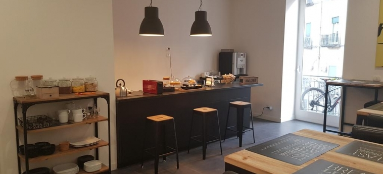 Art Street Hotel: Breakfast Room NAPLES