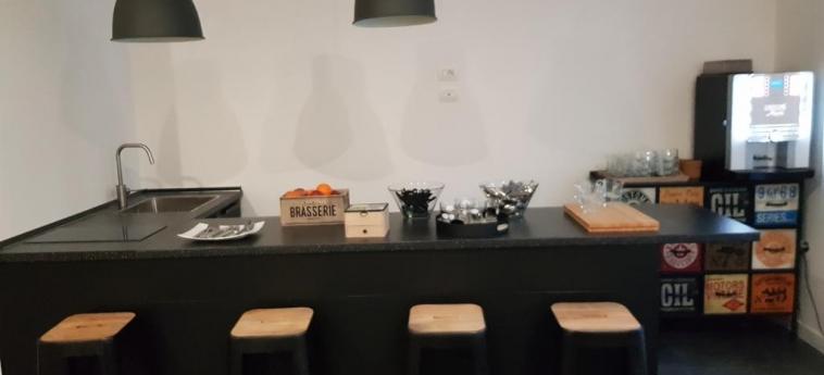 Art Street Hotel: Cocina NAPOLES