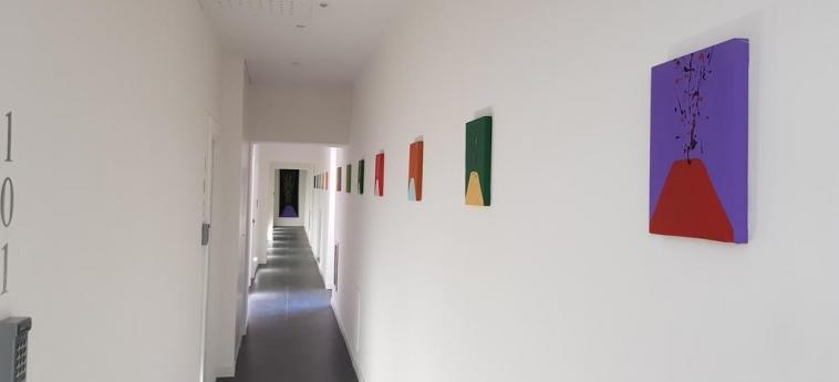 Art Street Hotel: Interior NAPOLES