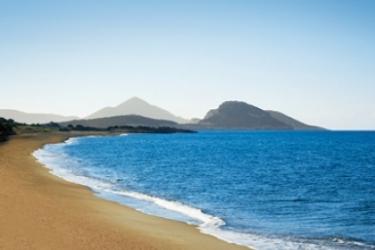Hotel The Westin Resort, Costa Navarino: Beach NAVARINO COAST - PYLOS - NESTORAS