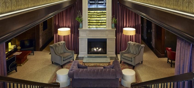 Walker Hotel Greenwich Village: Lounge NEW YORK (NY)