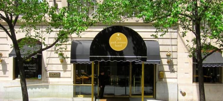 Hotel Iberostar 70 Park Avenue: Eingang NEW YORK (NY)