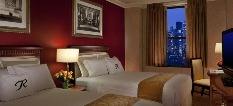 Hotel The Roosevelt: Doppelzimmer - Twin NEW YORK (NY)