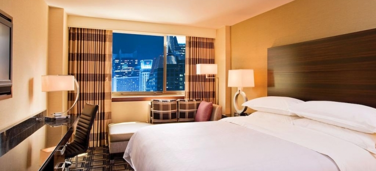 Hotel Sheraton New York Times Square: Schlafzimmer NEW YORK (NY)