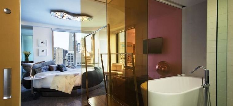 Hotel W New York Times Square: Schlafzimmer NEW YORK (NY)