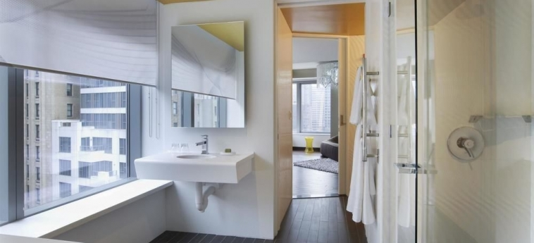 Hotel W New York - Downtown: Bagno NEW YORK (NY)