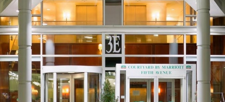 Hotel Courtyard By Marriott New York Manhattan/fifth Avenue: Entrata NEW YORK (NY)