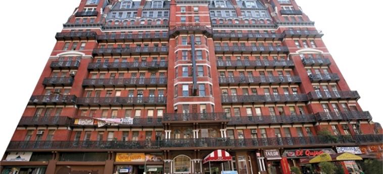 Risultati immagini per Hotel Chelsea, New York, Stati Uniti