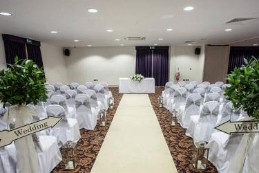 Quality Hotel Boldon: Area para boda en interior NEWCASTLE UPON TYNE