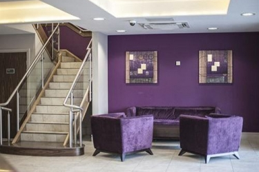 Quality Hotel Boldon: Lobby NEWCASTLE UPON TYNE