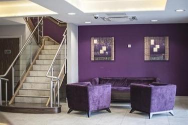 Quality Hotel Boldon: Lobby sitting area NEWCASTLE UPON TYNE