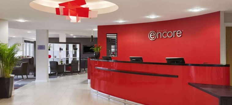 Hotel Ramada Encore Newcastle Gatesh: Lobby NEWCASTLE UPON TYNE