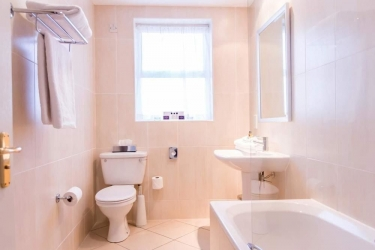 Hotel Slieve Donard Resort & Spa: Bagno NEWCASTLE