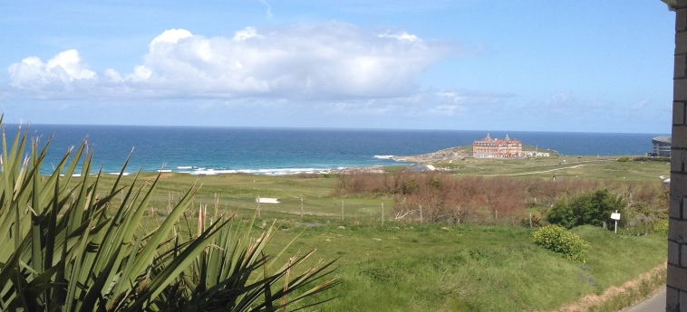 Hotel Breakers Lodge: Aussicht NEWQUAY