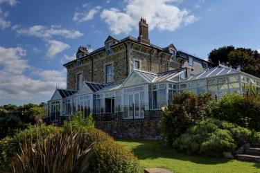 Hotel Best Western Porth Veor Manor: Außen NEWQUAY