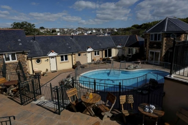 Hotel Best Western Porth Veor Manor: Schwimmbad NEWQUAY
