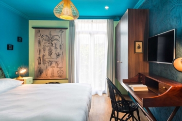 Hotel Villa Bougainville By Happyculture: Chambre d'amis NICE