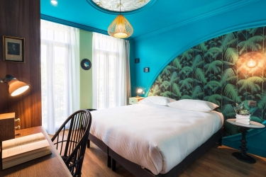 Hotel Villa Bougainville By Happyculture: Chanbre NICE