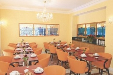 Hotel Little Palace: Sala de Desayuno NIZA