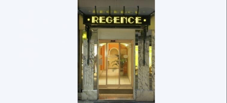 Hotel Regence: Entrada NIZA