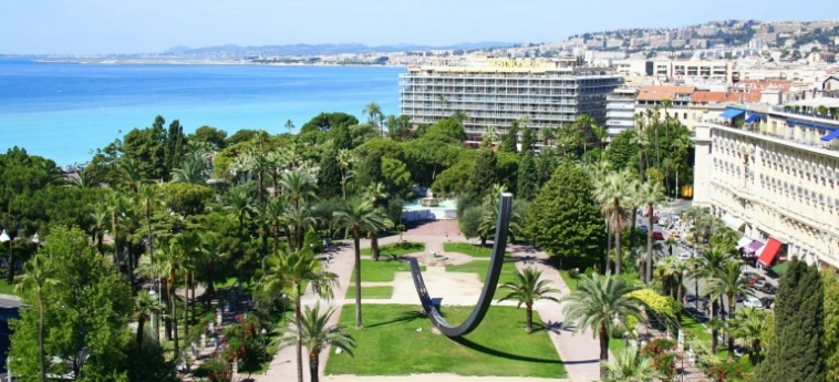 Hotel Le Meridien Nice: Garten NIZZA