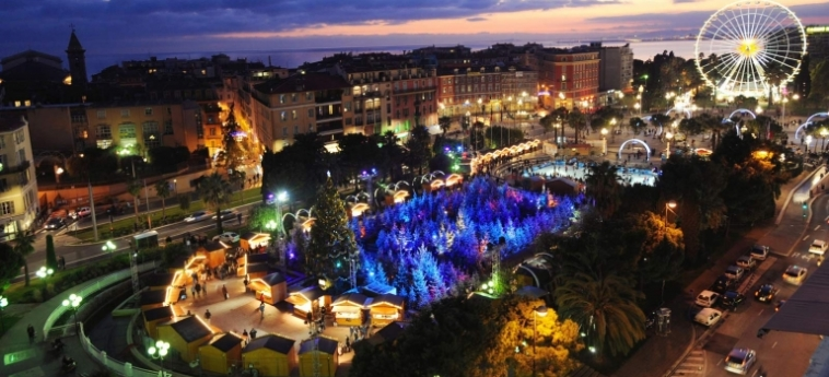 Hotel Le Meridien Nice: Hotellage NIZZA