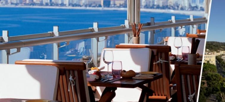 Hotel Le Meridien Nice: Panoramarestaurant NIZZA