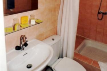 Hotel Amaryllis: Badezimmer NIZZA